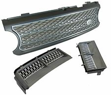 Supercharged grille+wing air intake vent upgrade kit Range Rover L322 2005-09