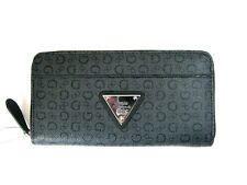 Guess Burbank SLG Coal Trifold Clutch Wallet New NWT