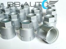 SET OF 20 NEW 82-92 CAMARO FIREBIRD SCREW ON SILVER LUG NUT COVERS CAPS