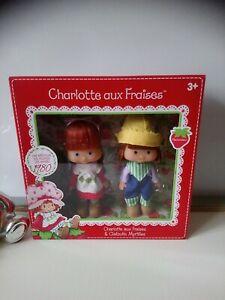 Poupées parfumées charlotte aux fraises et clafoutis myrtille Kanai kids neuf