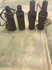 4 Vintage Wood Duck Calls, 2 Lohman 2 ?Unlabeled