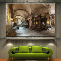 Wall Art Canvas Print Wine Old Winery Cellar Barrels Picture Home Decor Prints 2