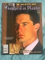 Wrapped In Plastic (1992) #63 David Lynch Twin Peaks Fanzine Gary Bullock 24 NM