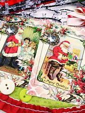Vintage Christmas Santa Mega Lot-junk journaling, card making, scrapbooking