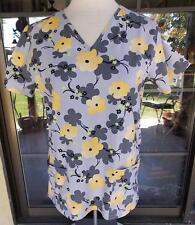 Floral Life Uniform Nursing Uniform Scrub Top Sz. XS