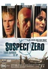 Suspect Zero (DVD, 2005) Region 4 Thriller Mystery DVD Rated MA Used in VGC