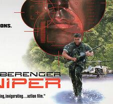 SNIPER -Tom Berenger & Billy Zane  -LASER DISC -NEW -NEVER PLAYED!! -VERY RARE!!