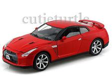 Motormax 2008 Nissan Skyline GT-R GTR 1:24 Diecast Red 73384