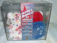 NIB Salvino Bammers Collector's Edition Baseball Beanies--McGwire & Jeter