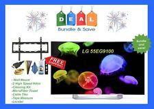 LG 55EG9100 1080p Smart Curved OLED 3D TV with webOS 2.0 - MOUNT BUNDLE!