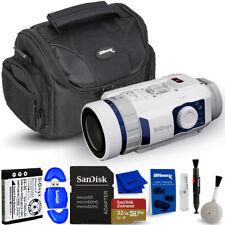SiOnyx Aurora Sport Water-Resistant Ir Night Vision Camera C011000 - 32Gb Bundle