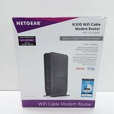 NETGEAR C3000 DOCSIS 3.0 WIRELESS N300 WI-FI CABLE MODEM ROUTER (T46)