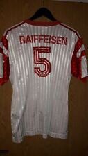 Football jersey Switzerland vintage 80er adidas 7/8 red