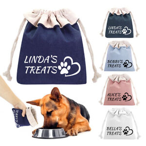 Puppy Pet Dog Training Obedience Treat Bags Pouch Personalised Reward Biscuit