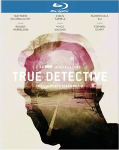 True Detective: The Complete Seasons 1-3 (Blu-ray, 2020, 3-Disc set, HBO) NEW!