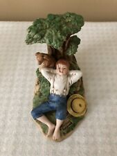Norman Rockwell Figurine Spring Fever Museum Collection Japan Made 1981
