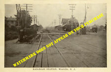 Pennsylvania RR West Jersey & Seashore Westville NJ station 8½x11 PC repro