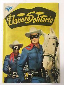 1959 SPANISH COMICS EL LLANERO SOLITARIO #72 THE LONE RANGER NOVARO SEA MEXICO