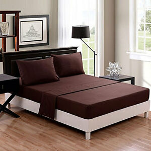 QUEEN SIZE USA BEDDING COLLECTION SOLID 1000 TC EGYPTIAN COTTON ALL COLOR & ITEM