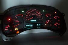 03-05 RED LED REBUILT CHEVY GMC DURAMAX Diesel Instrument Cluster $70 Money Back