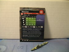 Axis and Allies War at Sea Condition Zebra Murasame 38/40