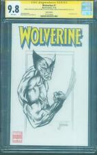 Wolverine 1 Variant CGC 9.8 SS Javier Saltares Original art Sketch Logan Movie
