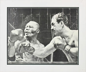 Rocky Marciano Authentic Signed 16x20 Matted Photo PSA/DNA #Z04225