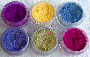 PHOTOCHROMIC DAYLIGHT COLOUR CHANGING PIGMENTS FOR ACRYLIC UV GEL NAIL ART