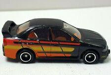 Tomica Tomy 1997 Mitsubishi Lancer Evo IV Black Vintage Car Rare Loose 319L41