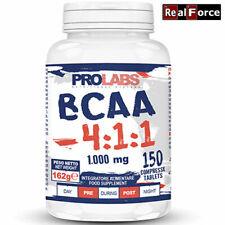 PROLABS BCAA 4 1 1, 150 compresse da 1 gr, aminoacidi ramificati con Vit.B1 e B6