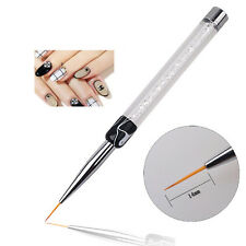 Tiny Fine Line Nail Art Accessories Acrylic Pen Brush Painting Drawing DIY Tools