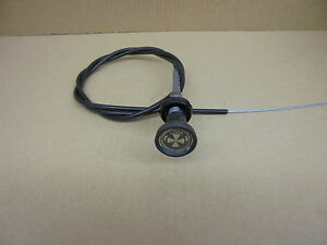 Triumph TR7 ** CHOKE CABLE ** NEW !! Twist + Lock RHD cars