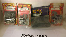 Warhammer rare tomb kings, kislev, orcs and gobil and bases  blister LOT (new)