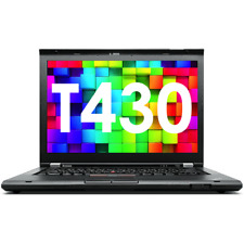 "14 "" Lenovo THINKPAD T430 i5 4 RAM 500GB HDD USB 3.0 Notebook Sans Betriebsystem"