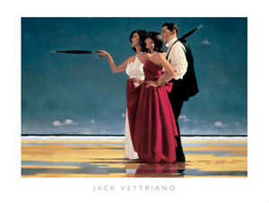Jack Vettriano - The Missing Man I - premium open edition print (60x80)