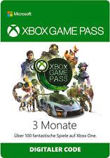Xbox Game Pass 3 Monate Mitgliedschaft Karte Abonnement XGP Xbox One / 360 Code