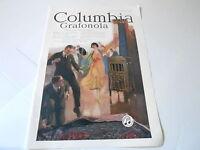 VINTAGE MAGAZINE AD #1335 - 1920 COLUMBIA GRAFONOLA PHONOGRAPH
