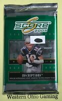 2005 Score Football Card Pack NEW NFL Sports