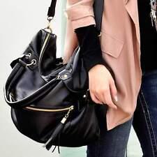 Ladies Tote Fashion Women Messenger Hobo PU Leather Handbag Shoulder Bag Large A