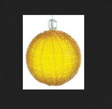 GKI/BETHLEHEM Lights 6 inch Gold Glass LED Maille Sphere 100026989