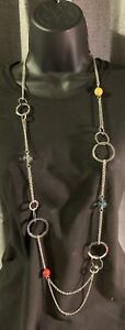 Paparazzi Accessories Multi Color Necklace with Earrings