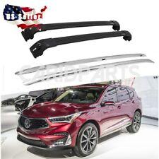 Fit for Acura RDX 2012-2017 Roof Rack Cargo Side Rails Cross Bar 4pcs Kit