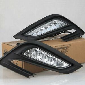LED Fog Lamp Assembly Daytime Running Lights for Buick Encore Opel Mokka X 2016+