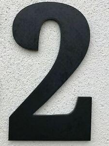 House number plaque / Door number / Large number 200mm 8in GBP6 Each PEK UK