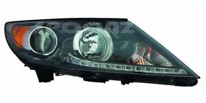 Fit for KIA SPORTAGE 2013 2014 2015 2016 HEADLIGHT W/O LED HEAD LAMP NEW - RIGHT