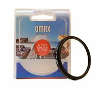 Omax 52mm Multi-Coated UV Filter For Nikon AF-S 18-55mm Lens