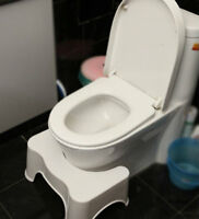 Toilet Squatty Potty Step Stool Bathroom Aid Constipation Piles Relief Non-Slip