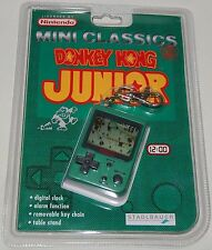 VINTAGE 1998 NINTENDO MINI CLASSICS DONKEY KONG JUNIOR/JR LCD HANDHELD GAME/NOS