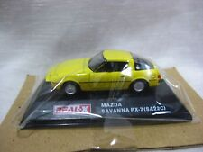 MAZDA SAVANNA RX-7 SA22C Yellow 1:72 Scale REAL-X Rotary HISTORIES Collection