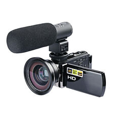 Digital Video Camera FULL HD 1080P 16X ZOOM LED LCD Camcorder Mic Wide Angle DV